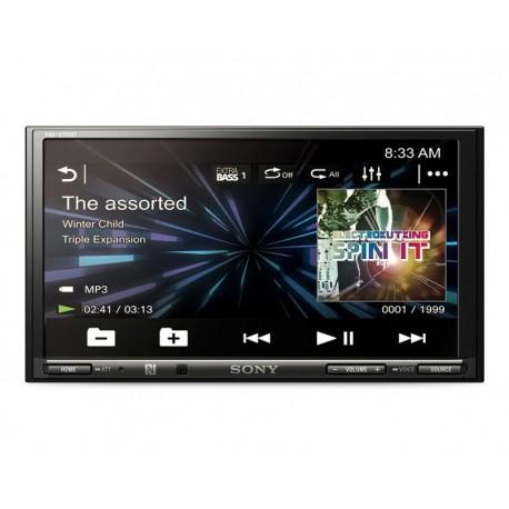 Autoestéreo Sony Sin CD XAV-V751BT/C1 E de 7' Bluetooth Negro