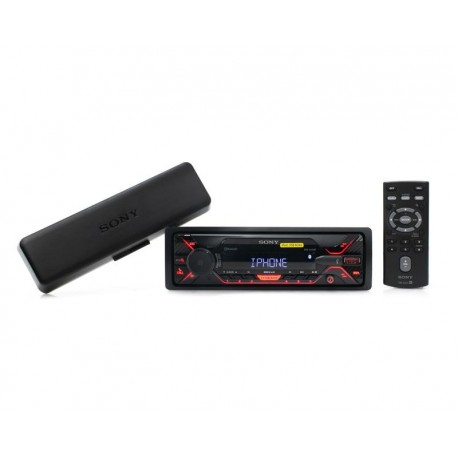 Autoestéreo Sony DSXA410BT/Q1 E Sin CD con Bluetooth Negro