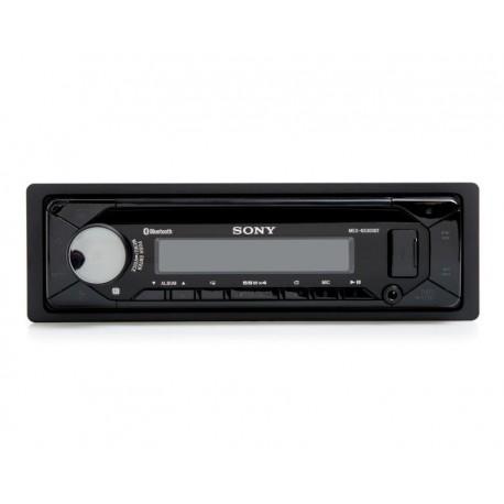 Autoestéreo Sony con CD MEXN5300BT/Q E Bluetooth Negro