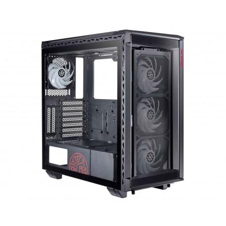 Gabinete Adata Xpg Battlecruiser color Negro Argb Eatx Cristal 75260031