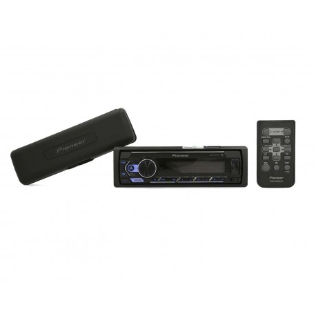 Autoestéreo Pioneer Sin CD MXT-S3262BT Bluetooth Compatible con Spotify Negro