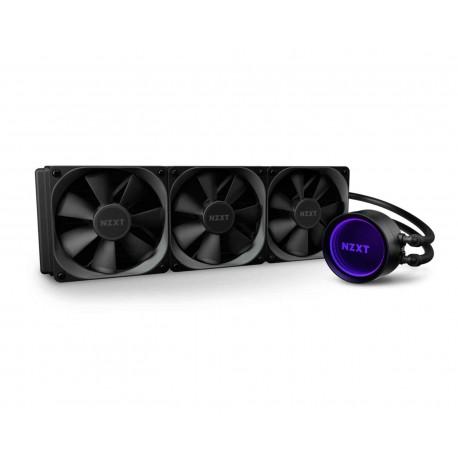 Enfriamiento Nzxt Kraken X73 Rl-krx73-01 color Negro RGB Amd Intel 3x120 mm