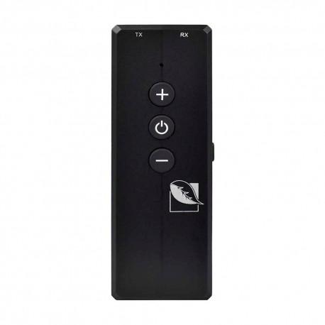 Receptor y Transmisor Green Leaf color Negro con Bluetooth 18-5040 de Audio