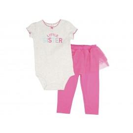Conjunto marca Precious Baby by Carters para Bebé Nilña
