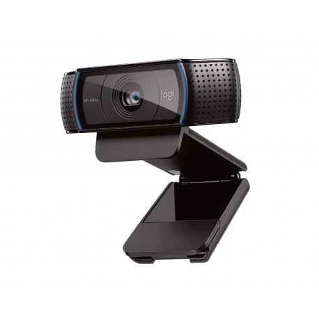 Webcam Logitech C920 Pro color Negro Panorámica con Micrófono USB 2.0 de 1080 px Clip 960-000764