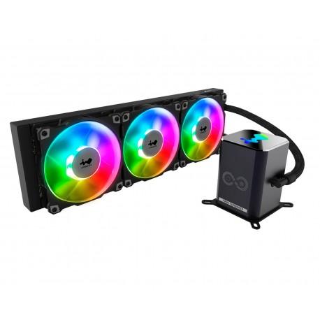 Enfriamiento Inwin Aio Sr36 Pro Argb color Negro Iw-lc-sr36pro 2500rpms