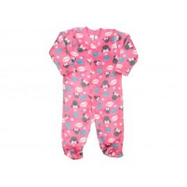 Mameluco Rosa marca Disney Minnie Mouse para Bebé Niña