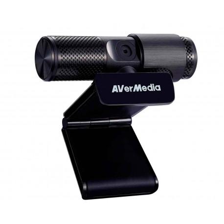 Webcam Avermedia Pw313 Live Streamer Microfono Negro 2mp Usb2.0 1080p Clip Md202004