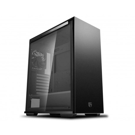 Gabinete Deepcool Gs-atx-macube310-bkg0p color Negro Macube 310 Atx S/Fuente Cristal
