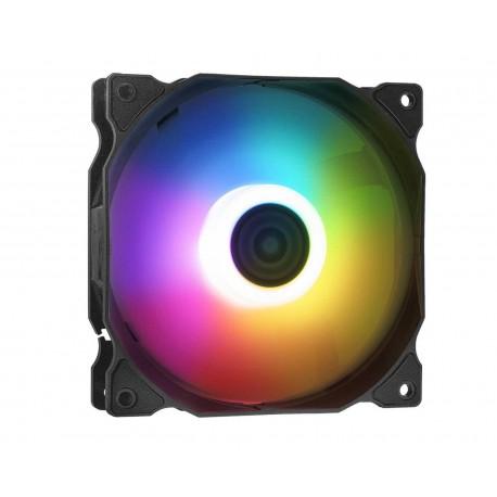 Ventilador Adata Vento120argb-bkcww color Negro Xpg Vento 120 Argb