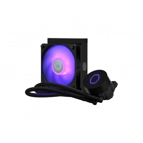Enfriamiento Cooler Master Mlw-d12m-a18pc-r2 color Negro Masterliquid Ml120l V2 RGB