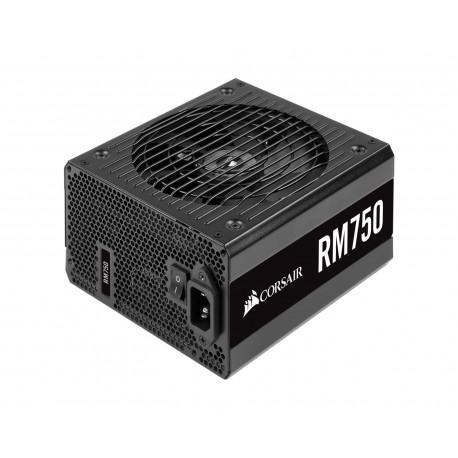 Fuentede Poder CorsairCp-9020195-na color Negro de 750 W Gold 80 Plus Rm750 Modular