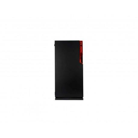 Gabinete Inwin 101 Atx S/fuente Cristal Iw-101-black color Negro