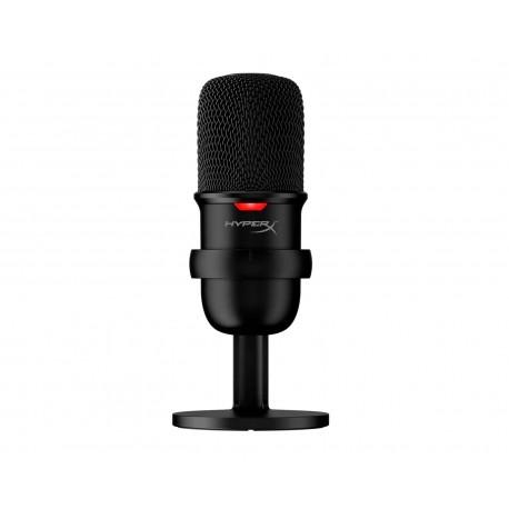 Micrófono Kingston Hyperx Solocast Usb Condensador Base Hmis1x-xx-bk/g color Negro