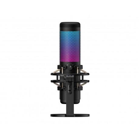 Micrófono Kingston Hyperx Quadcast Rgb Usb Base Hmiq1s-xx-rg/g