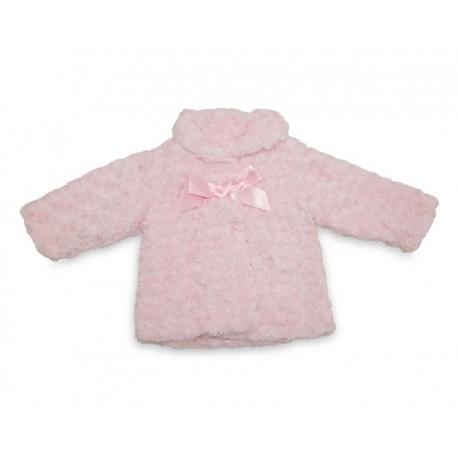 Abrigo Rosa marca Baby Colors para Bebé Niña