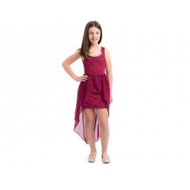 Vestido Girls Attitude Tinto