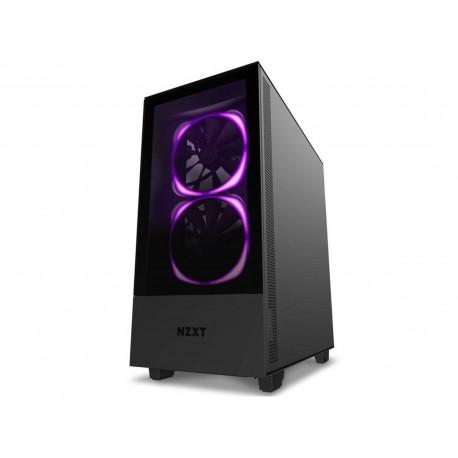 Gabinete Nzxt H510 Elite Argb Atx S/fuente Cristal Ca-h510e-b1 color Negro