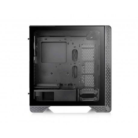 Gabinete Thermaltake S300TG color Negro Atx S/fuente Cristal CA-1P5-00M1WN-00
