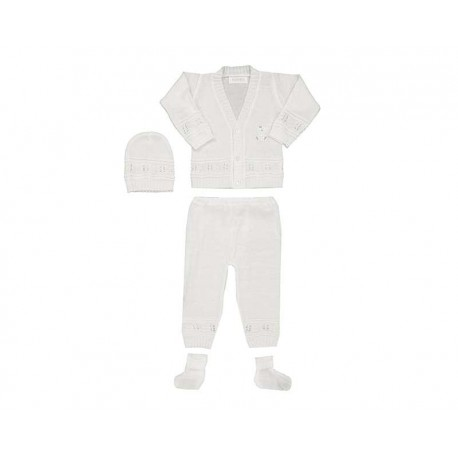 Conjunto color Blanco marca Bam-Bu para Bebé