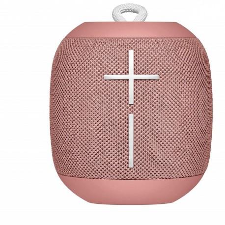 Bocina Logitech Wonderboom 2 Bluetooth Peach (984-001558) color Rosa