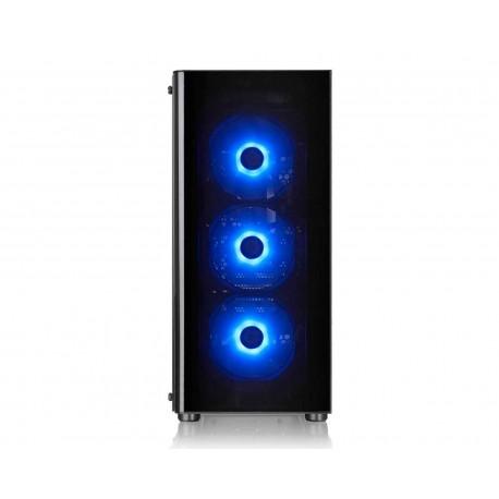 Gabinete Thermaltake V200 Rgb Atx S/fuente Cristal Ca-1k8-00m1wn-01 color Negro