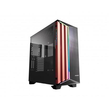 Gabinete Cougar Darkblader-s Argb Eatx S/fuente Cristal 454199503-4176 color Negro