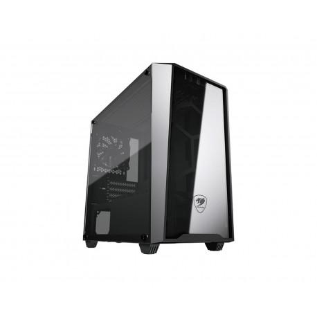 Gabinete Cougar Mg120-g M-atx Templado color Negro