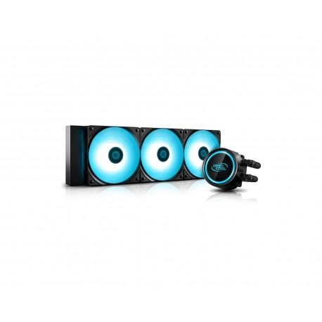 Enfriamiento Deepcool Gammxx L360 V2 Rgb Dp-h12rf-gl360v2c color Negro