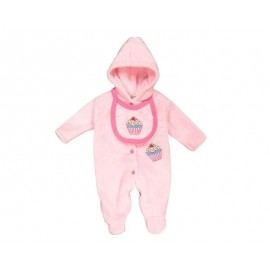 Mameluco Rosa marca Baby Colors para Bebé Niña