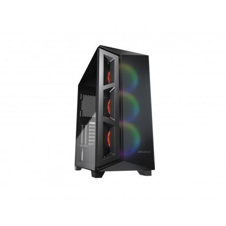 Gabinete Cougar Darkblader X5 Argb Eatx S/fuente Cristal 385um30.0003 color Negro