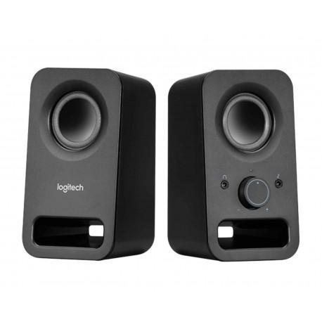 Bocina Logitech Z150 3w 2.0ch 3.5mm/aux 980-000874 color Negro