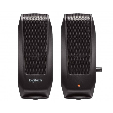 Bocina Logitech S120 2.2w 980-000161 color Negro
