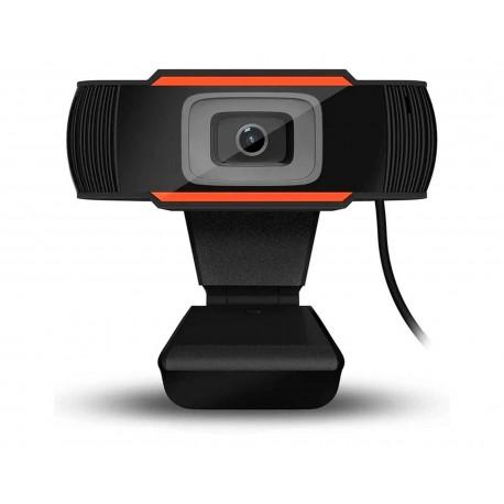 Webcam Topsky Topweb180 Micrófono 5mp USB 1080p Clip/tripie Top-web-180 color Negro