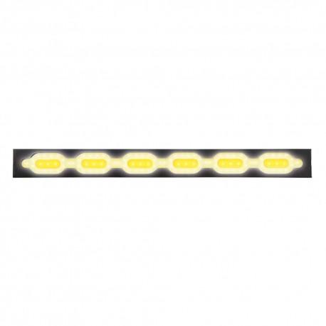 Luz Led Auxiliar Mitzu 10-5844 color Amarillo Flexible de 25.5 cm