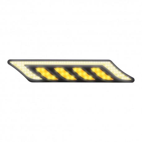 Luz Led Auxiliar Mitzu 10-5848 color Amarillo Rígida+ 21 Cm