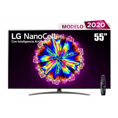 "Pantalla LED LG 55"" Ultra HD 4K AI ThinQ 55NANO91UNA"