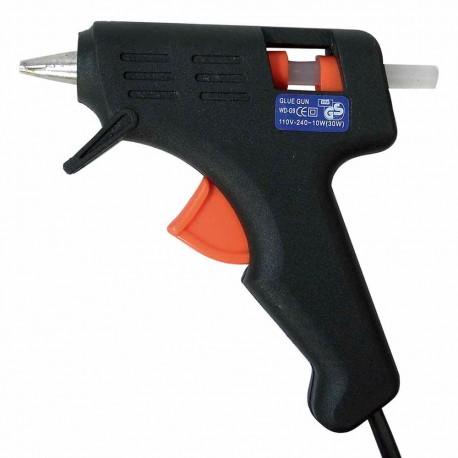Pistola Bork 15-3009 para Silicón color Negro de 10 W