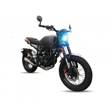 Motocicleta Veloci Dark Thunder Hyper Scrambler 250 cc GPS