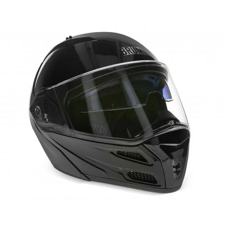 Casco para Motocicleta Brumm Extragrande color Negro