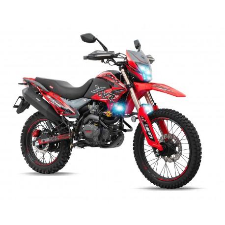 Motocicleta Veloci Xeverus Pro XR2 250 GPS Rojo