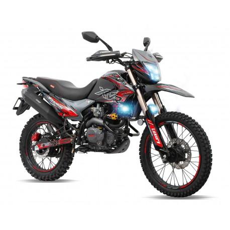 Motocicleta Veloci Xeverus Pro XR2 250 GPS Negro / Rojo