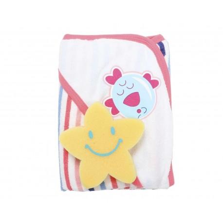 Toalla Rosa marca Baby Colors para Bebé Niña