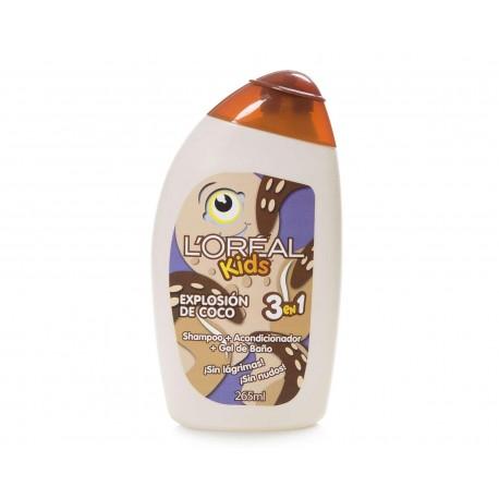Shampoo marca Loreal Kids 3 en 1