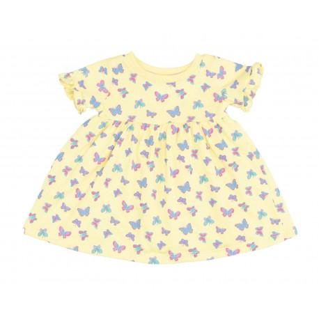 Vestido de Algodón Baby Colors para Bebé Niña