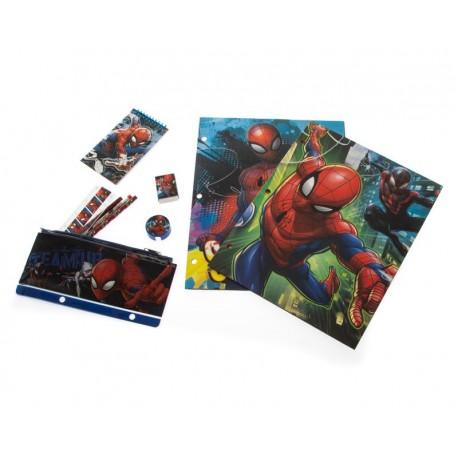 Set de Cuaderno y Accesorios Escolares Marvel
