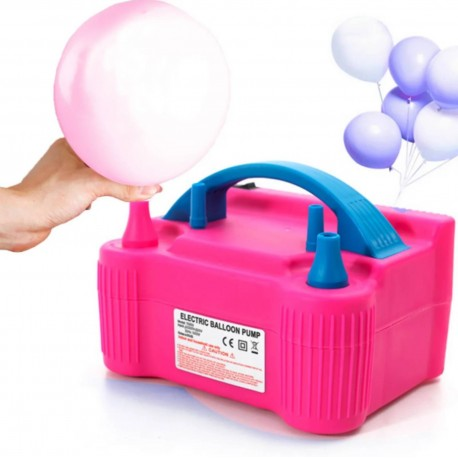 Bomba Eléctrica para Inflar Globos Genérico color Rosa
