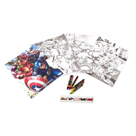 Set para Colorear Marvel Avengers