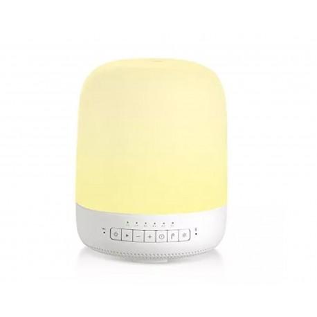 Difusor de Aromaterapia con Bocina y Luz de Colores Zeta color Blanco
