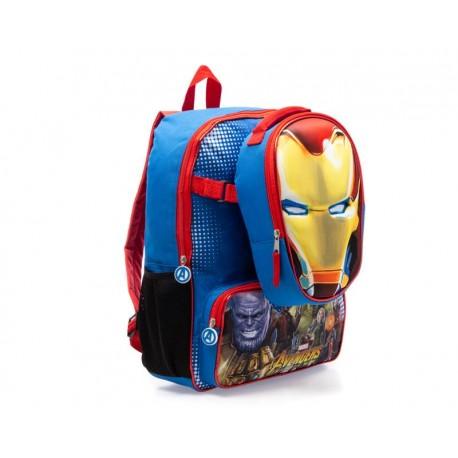 Juego de Mochila y Lonchera Marvel Avengers color Azul
